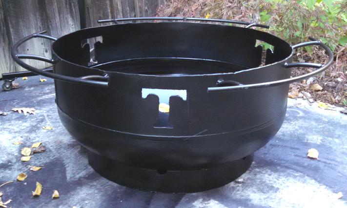 Custom Steel Fire Bowl, Brad Greenwood Designs