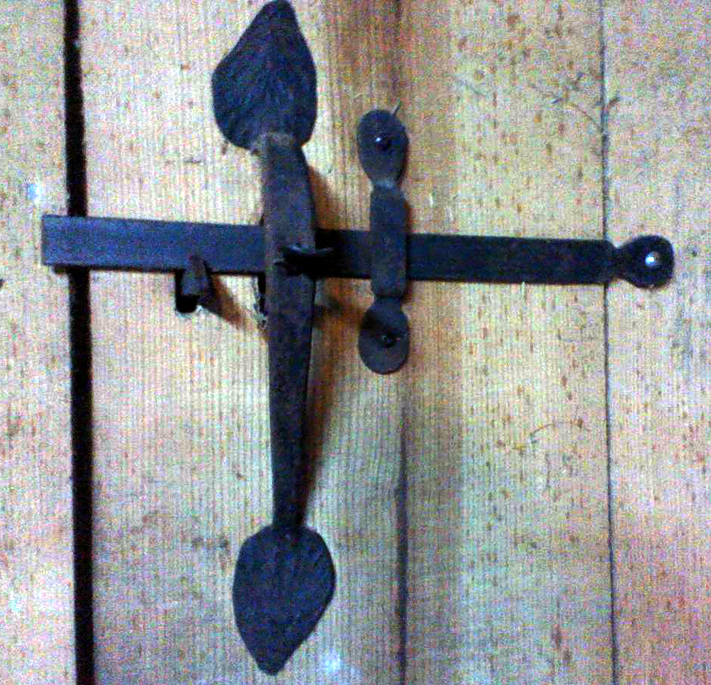 Thumb Operated Door Latch, Brad Greenwood Designs