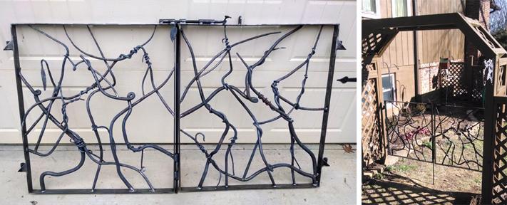 Garden Gate Set, Brad Greenwood Designs