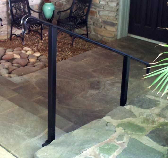 Simple Steel Hand Rail, Brad Greenwood Designs