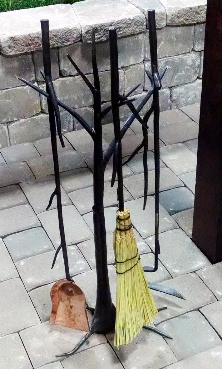 Tree and Branch Fireplace Set | BradGreenwoodDesigns.com
