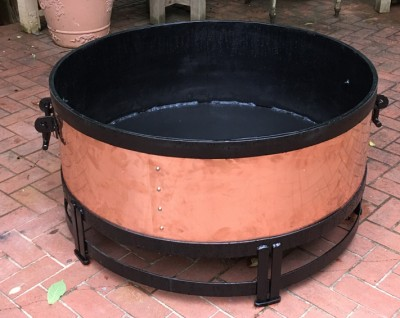 Custom Fire Pit:BradGreenwoodDesigns.com
