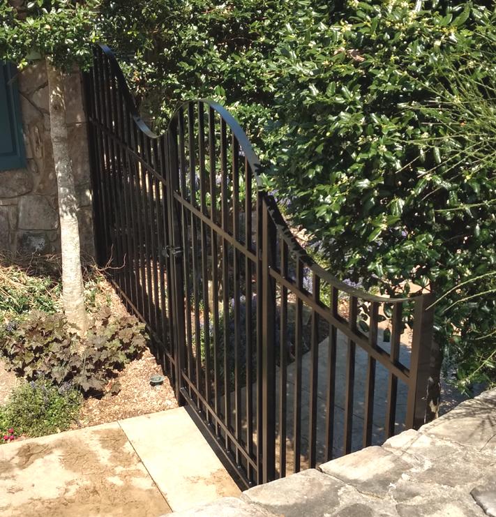 Garden gate: BradGreenwoodDesigns.com
