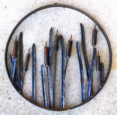 Cattail Wall Art: BradGreenwoodDesigns.com
