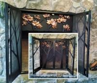 Custom Fireplace Door Set: BradGreenwoodDesigns.com