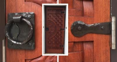 door handle and hinges:BradGreenwoodDesigns.com