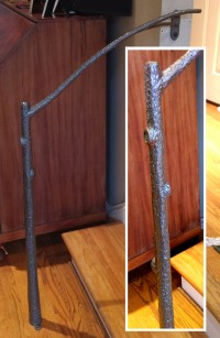 Tree Branch Hand Railing: BradGreenwoodDesigns.com