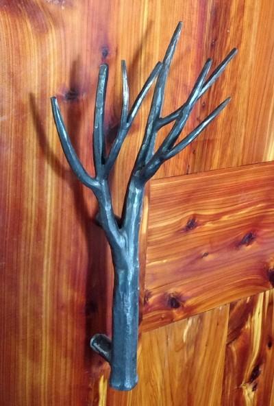 Tree Branch Door Handle:BradGreenwoodDesigns.com
